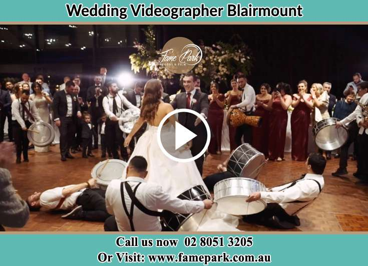 Bride and Groom at the dance floor Blairmount NSW 2559