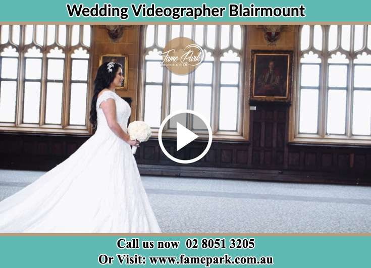 Bride walking down the aisle Blairmount NSW 2559
