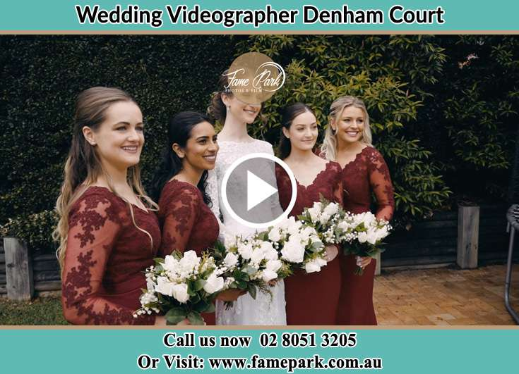 Bride and her secondary sponsors already prepared Denham Court NSW 2565
