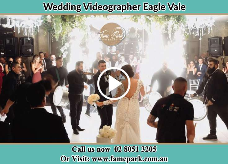 Bride and Groom at the dance floor Eagle Vale NSW 2558