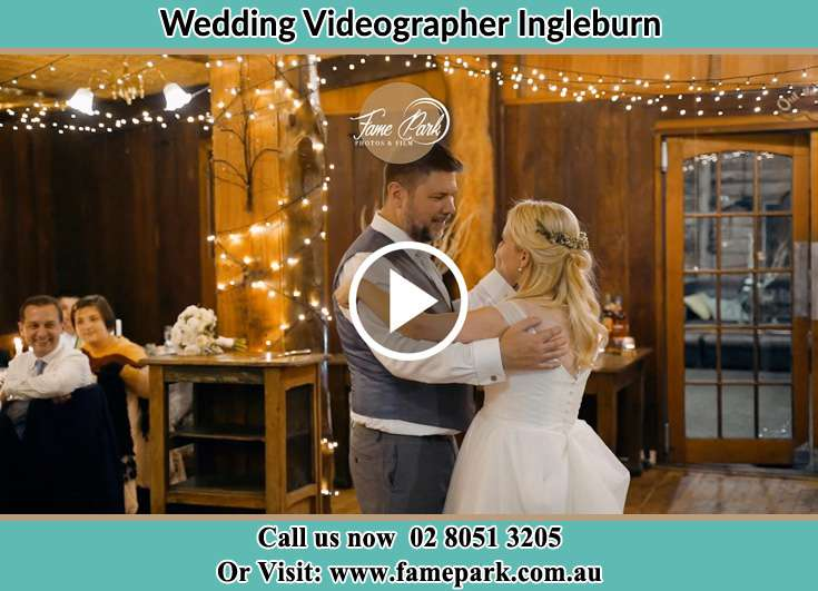 The new couple dancing on the dance floor Ingleburn NSW 2565