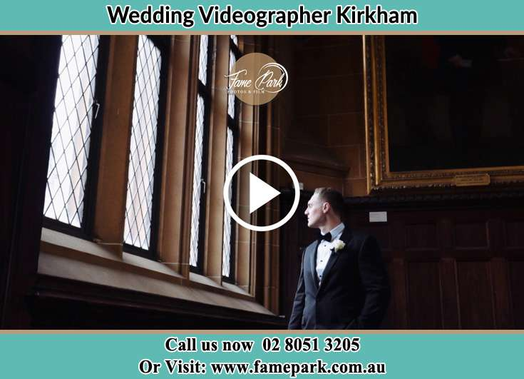 The Groom looking at the window Kirkham NSW 2570