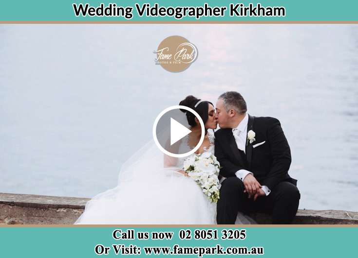 The new couple kissing near the shore Kirkham NSW 2570