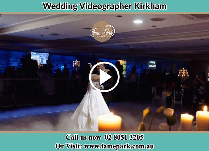 The new couple dancing on the dance floor Kirkham NSW 2570