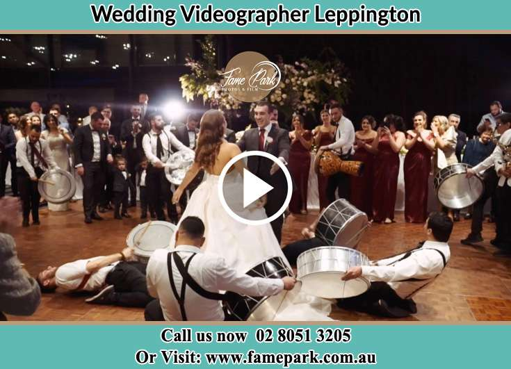 The new couple dancing on the dance floor with the band Leppington NSW 2179