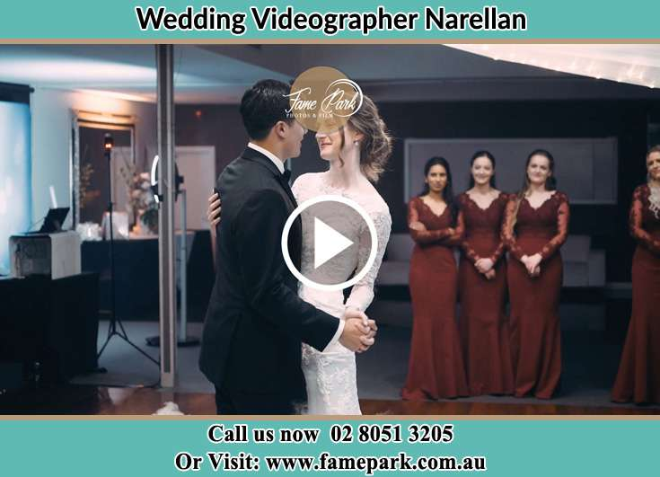 The new couple dancing on the dance floor Narellan NSW 2567