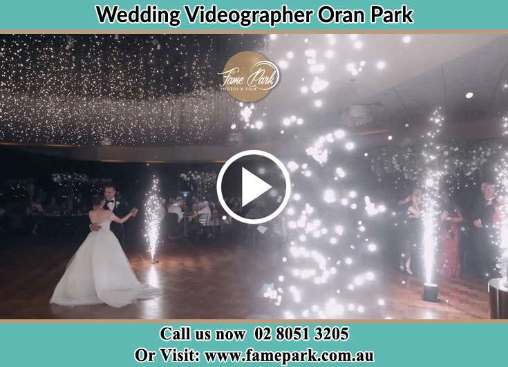 The new couple dancing on the dance floor Oran Park NSW 2570