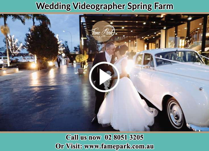 The new couple kissing Spring Farm NSW 2570